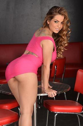 Yurizan Beltran Gets Naked In A Bar