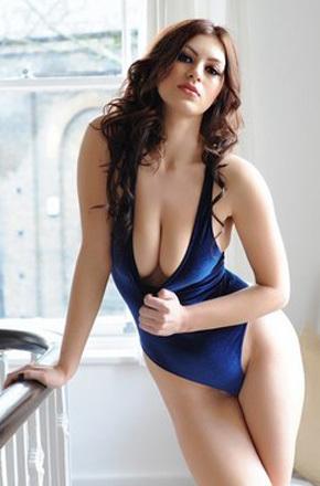 Clairein Blue Swimsuit